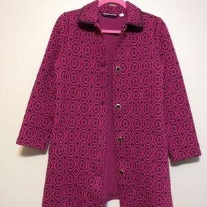 Isaac Mizrahi Live! sweater coat size small